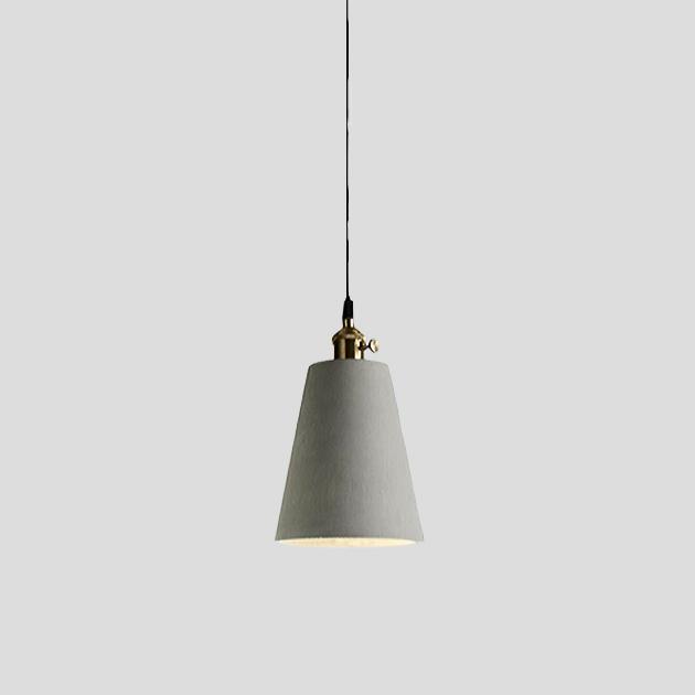 復古年華水泥吊燈 1