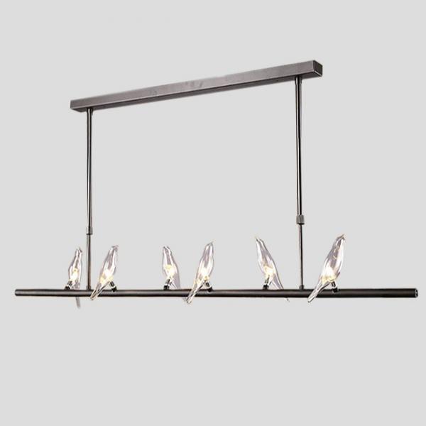 Travidebla  玻璃小鳥吊燈 1
