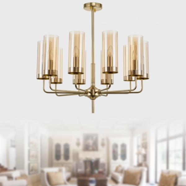 金鑽典範吊燈-10燈 1