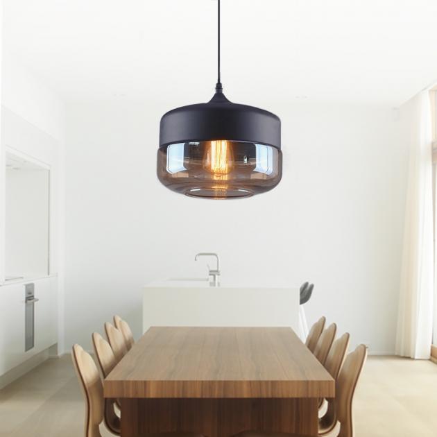 工業風透明玻璃吊燈 2