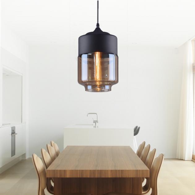 工業風透明玻璃吊燈 3