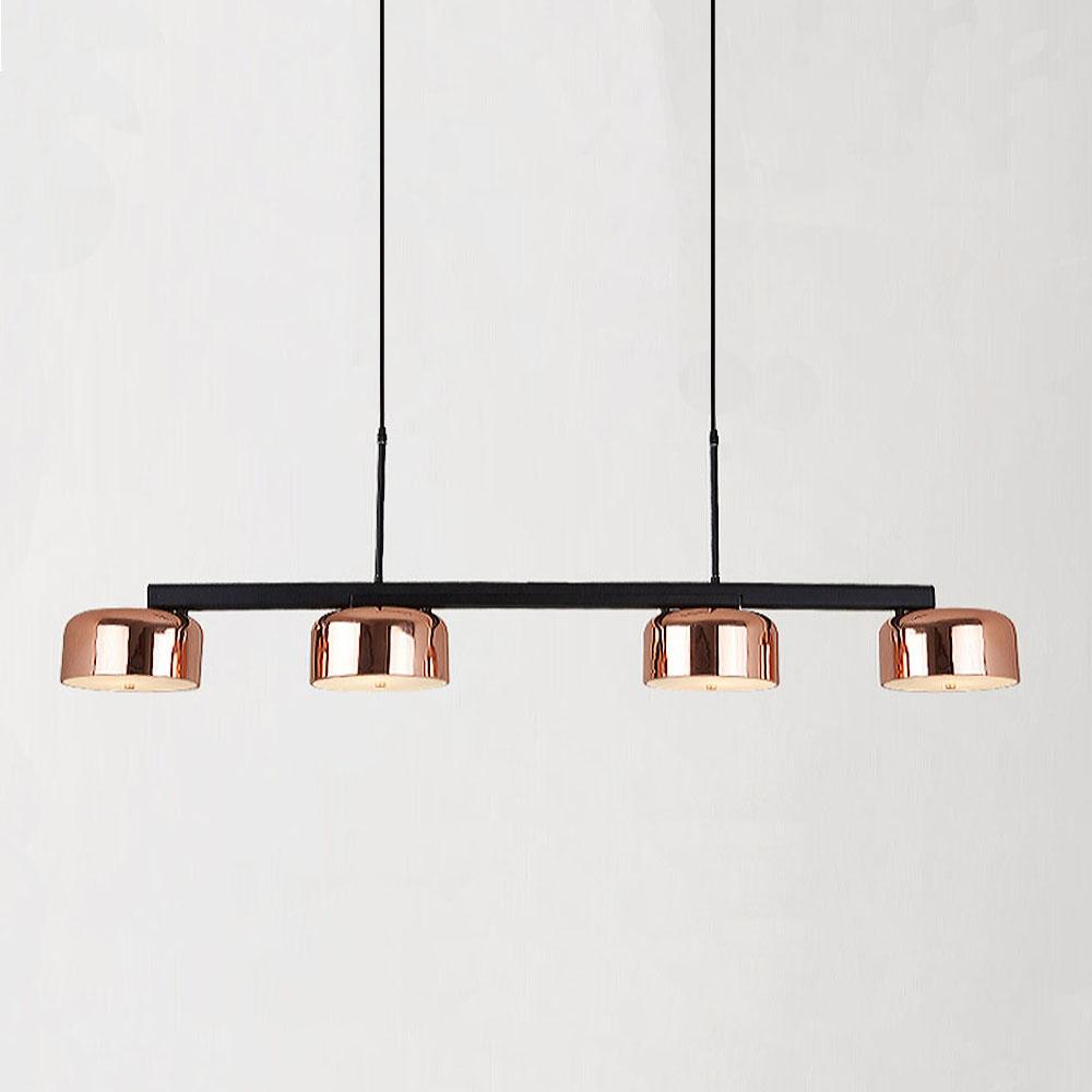 Nordic玫瑰金十字架餐吊燈 1