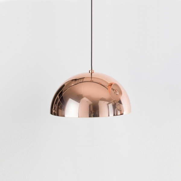Nordic玫瑰金鍋蓋餐吊燈 1