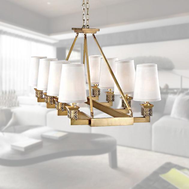 古典鄉村吊燈-8燈 2
