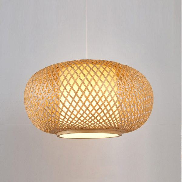 竹編吊燈 1
