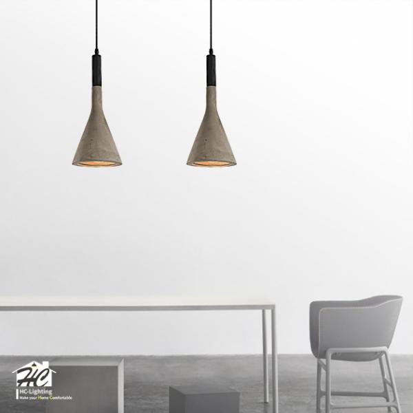 水泥質吊燈 2