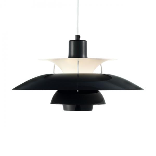 Louis Poulsen PH5吊燈(黑/白) 2