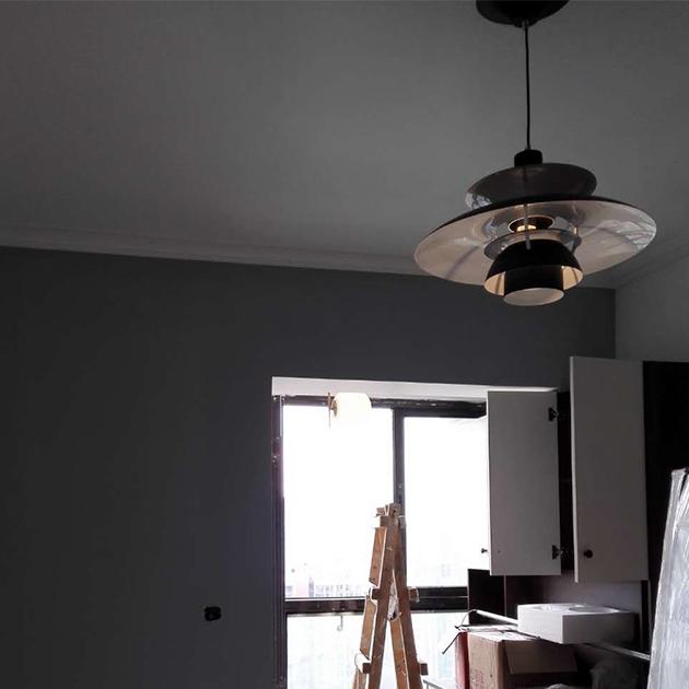 Louis Poulsen PH5吊燈(黑/白) 4