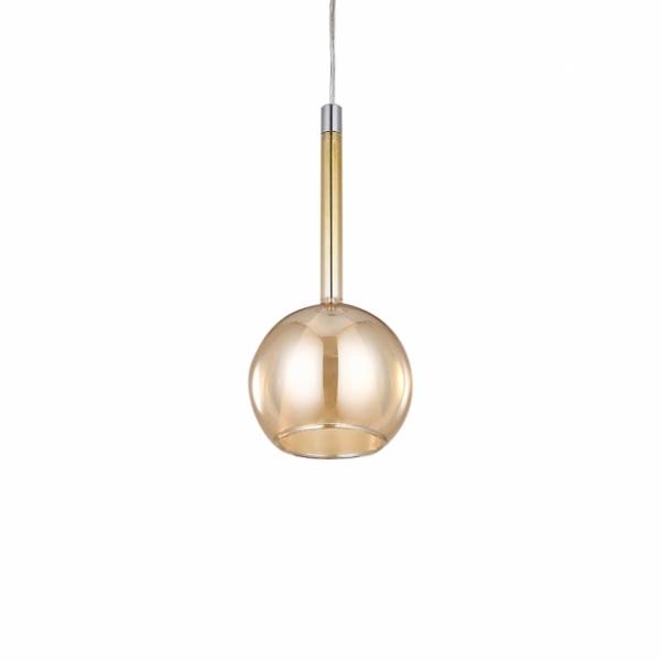 現代簡約電鍍玻璃吊燈 2