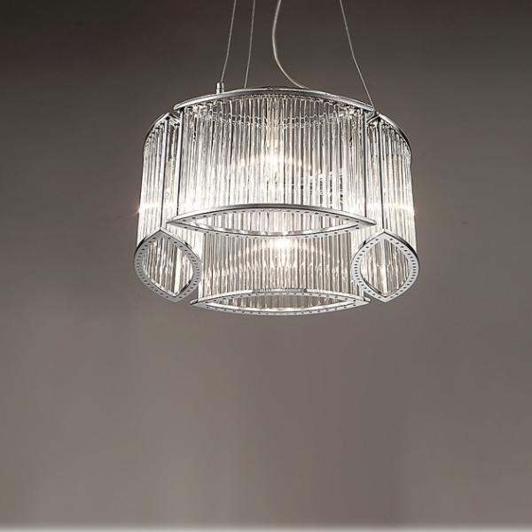 後現代奢華大氣吊燈-4燈 1