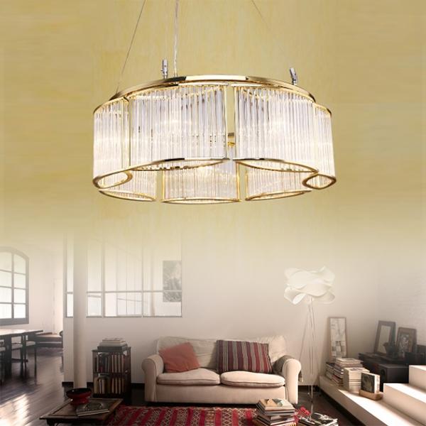 後現代奢華大氣吊燈-7燈 1