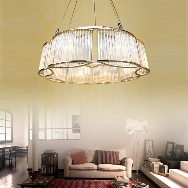 後現代奢華大氣吊燈-8燈 1