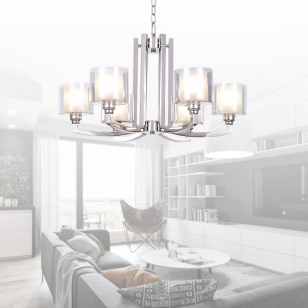Athena吊燈-6燈 2