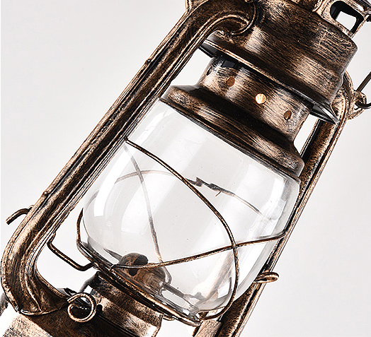 工業風復古油燈吊燈 3