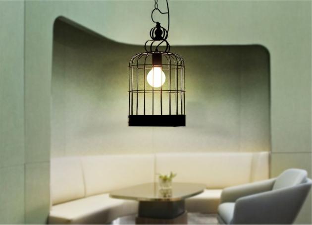 鳥籠吊燈 3