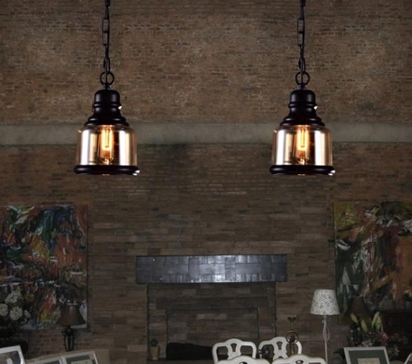 復古工業咖啡廳吊燈 5