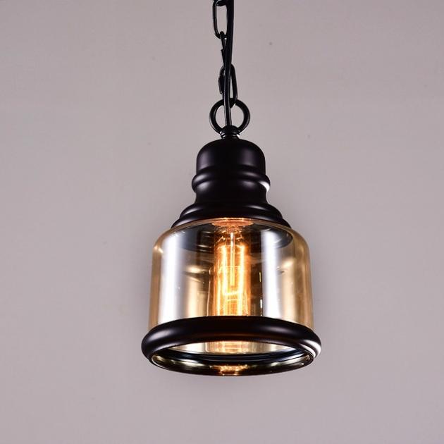 復古工業咖啡廳吊燈 1