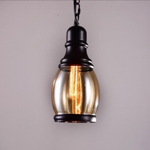 復古工業咖啡廳吊燈 2