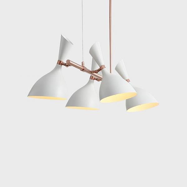 摩登長型餐吊燈-4燈 1