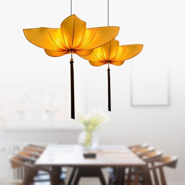 中式布花吊燈 1