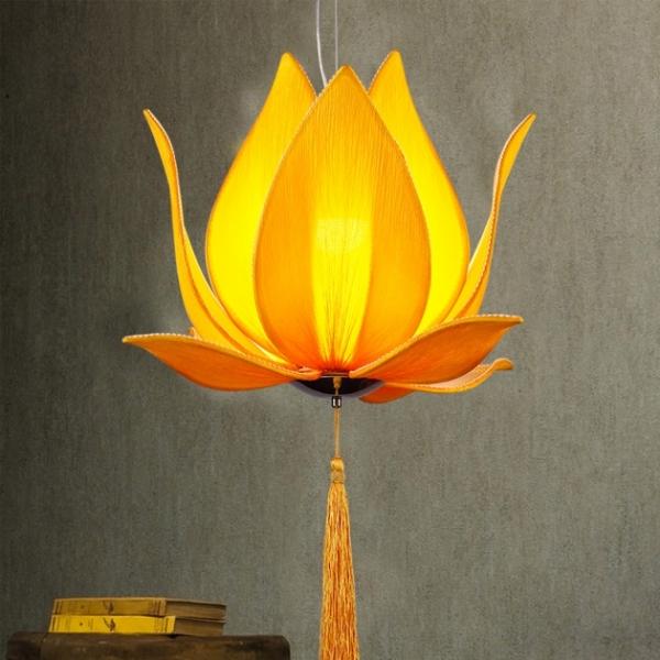 中式荷花吊燈 2