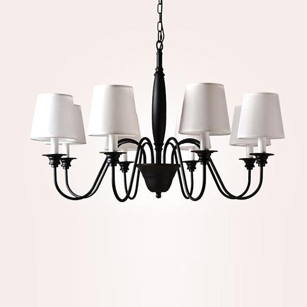 田園布藝吊燈 3