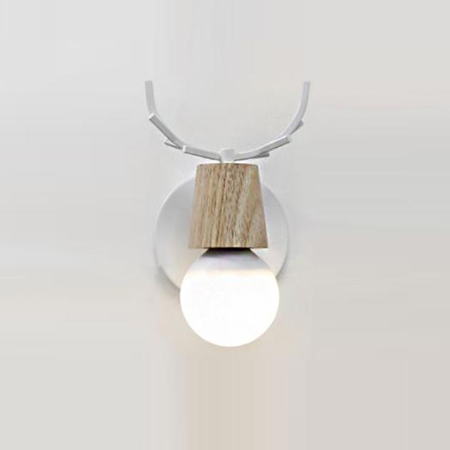 北歐鹿角壁燈 2