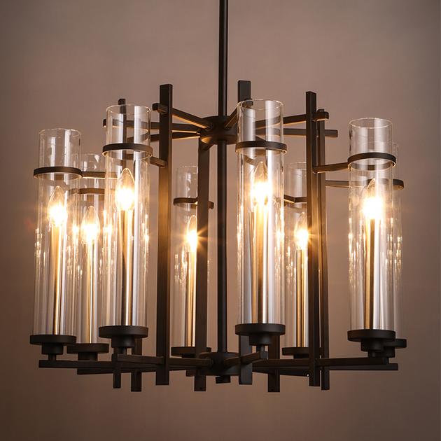 新中式玻璃管吊燈 3