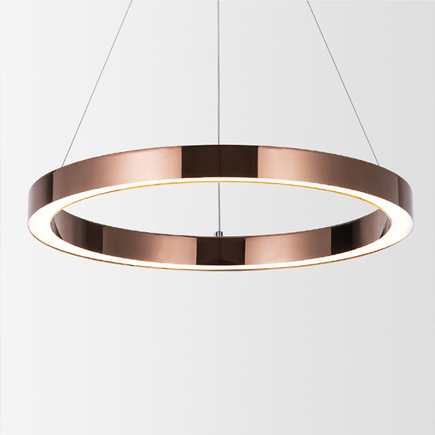 Circle Stainless LED圓環吊燈 2