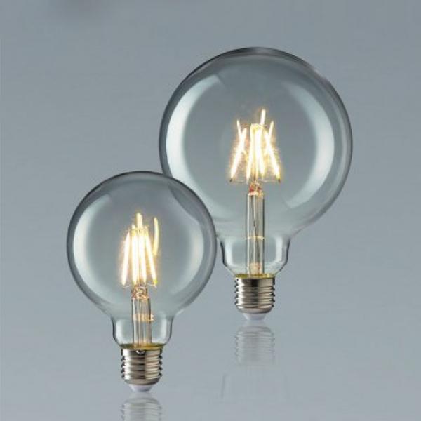 6W LED E27 珍珠鎢絲燈泡 1