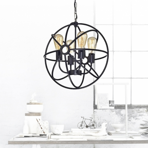 Atom原子簍空吊燈 1