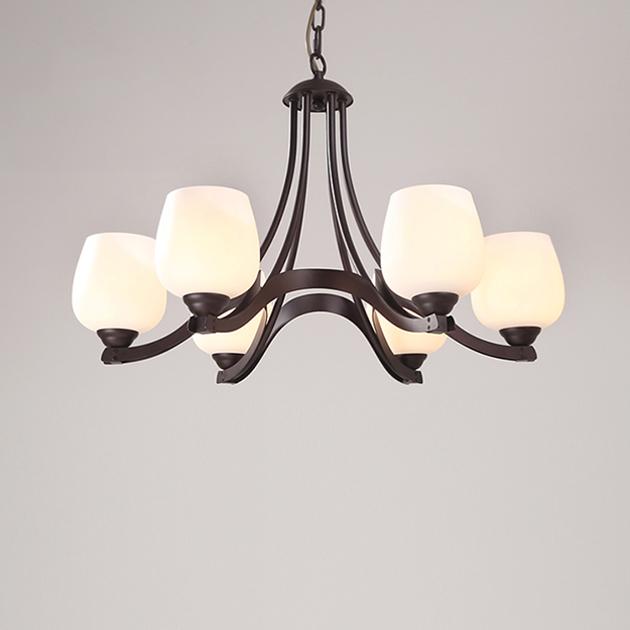 美式工藝復興吊燈 1