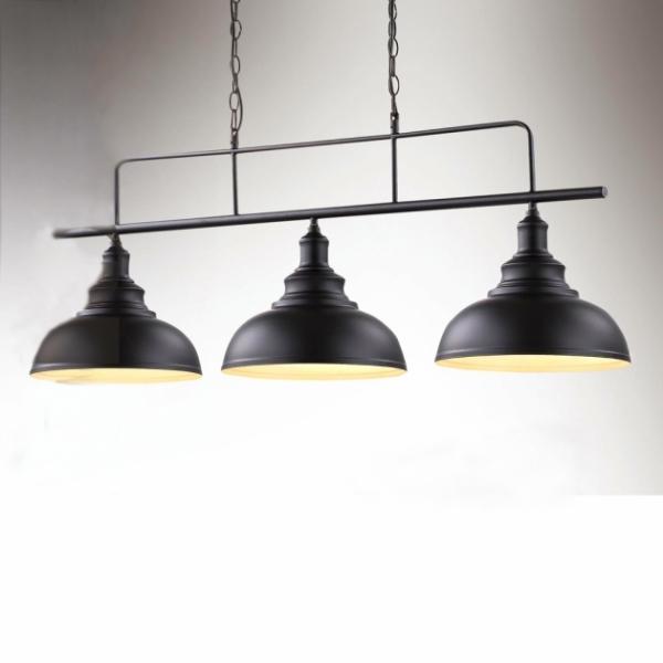 復古工業三頭吊燈 1