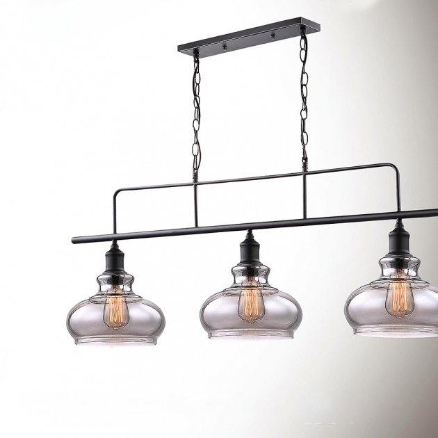 復古工業三頭吊燈 2