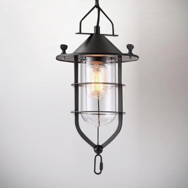 工業風船塢吊燈 1