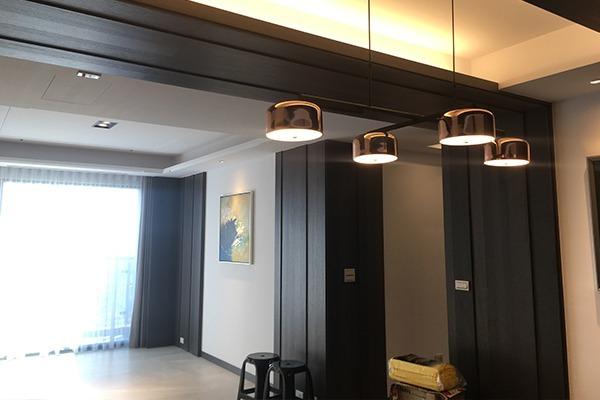 HC-0154C Nordic玫瑰金十字架餐吊燈