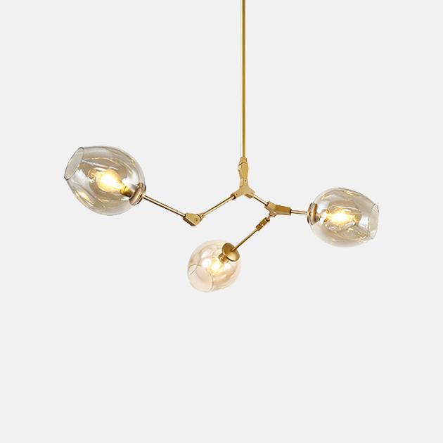 Branching Bubbles 吊燈 (3頭) 1