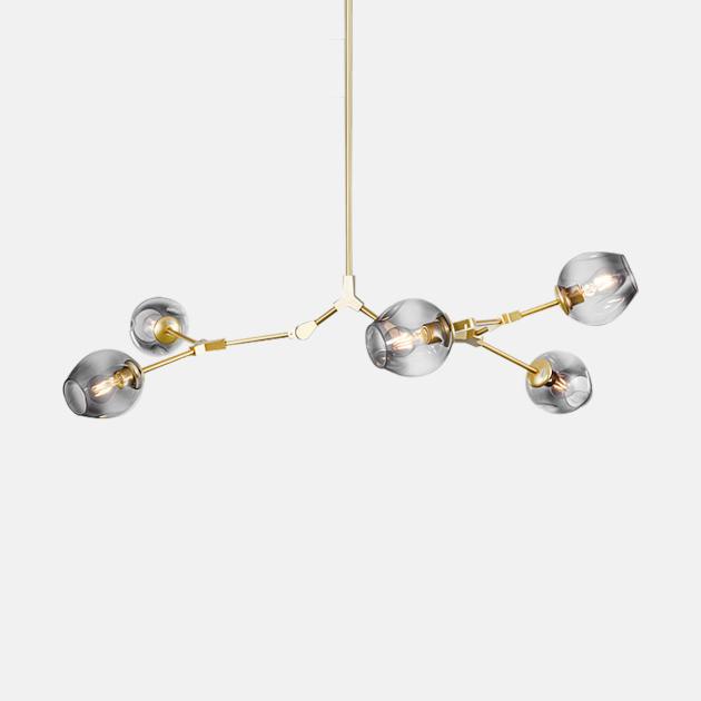 Branching Bubbles 吊燈 (5頭) 1