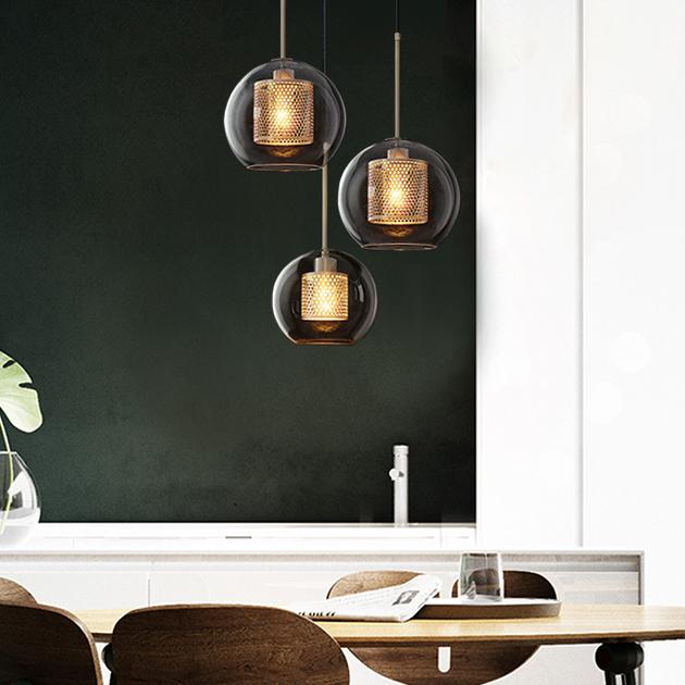 Theta  θ金屬圓吊燈 4