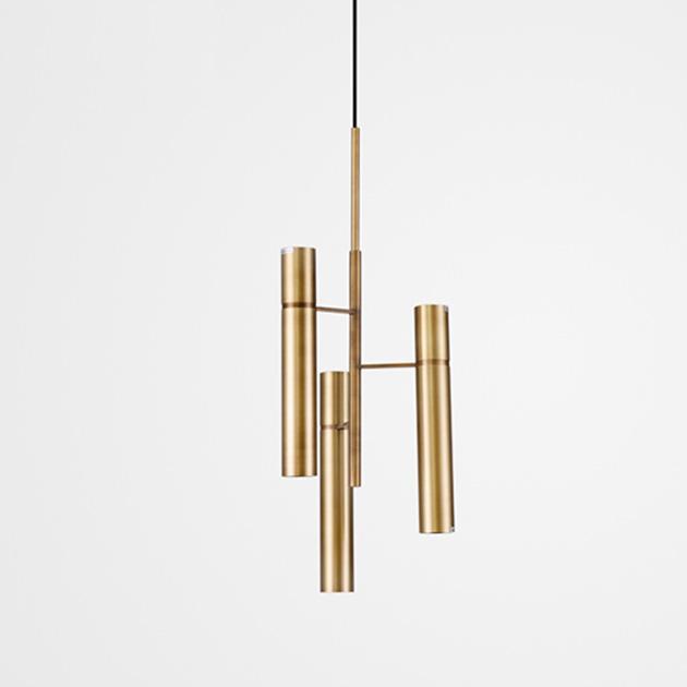 Trident  黃銅吊燈 1