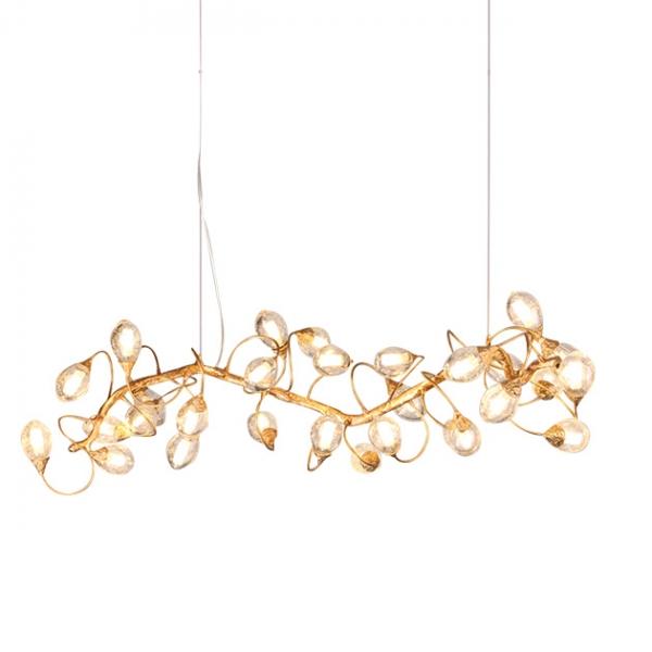 Lotus  全銅吊燈 1