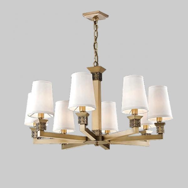 環狀古典鄉村吊燈-8燈 1