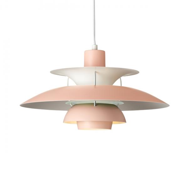 Louis Poulsen PH5吊燈(粉/綠) 1