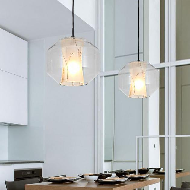 石紋玻璃吊燈 4