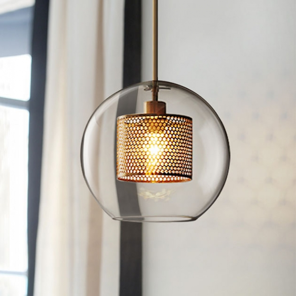 Theta  θ金屬圓吊燈 1