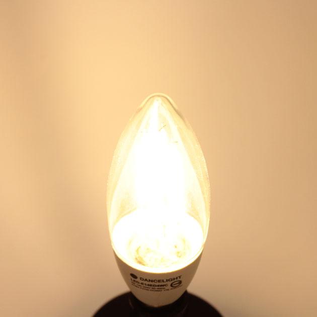 4W LED E14 尖清燈泡 2