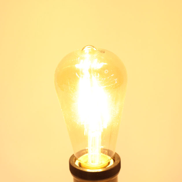 6.5W LED E27 ST64愛迪生仿鎢絲燈泡 2