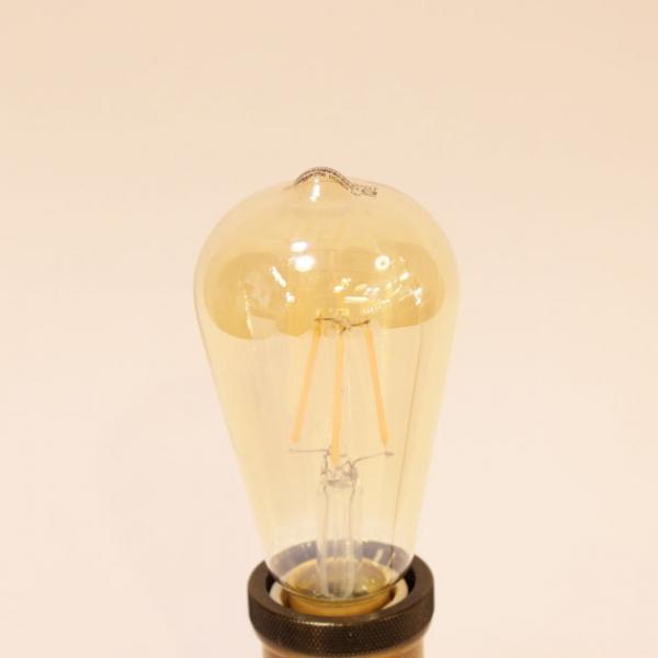 6.5W LED E27 ST64愛迪生仿鎢絲燈泡 1