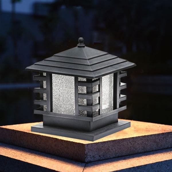 日式和風戶外柱燈 2