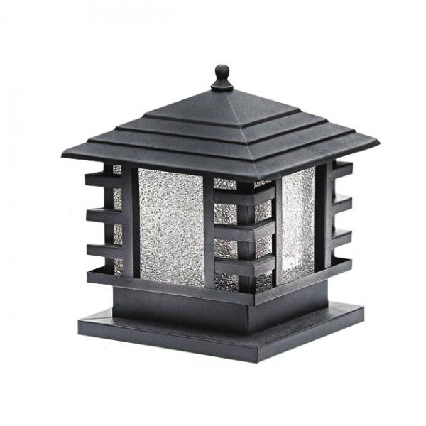 日式和風戶外柱燈 1